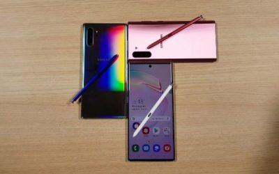 La Nueva Familia Galaxy Note 10